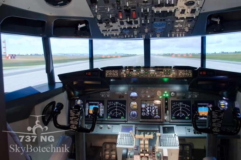 New B737 NG Simulator