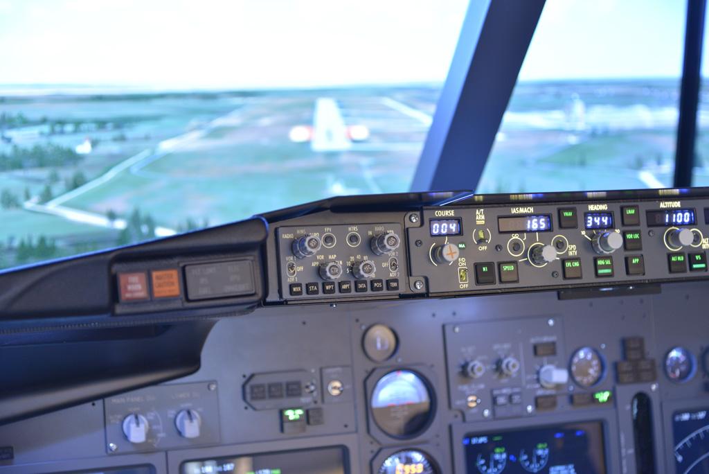 New B737 NG Simulator