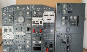 New B737 OVHD+AFT panel