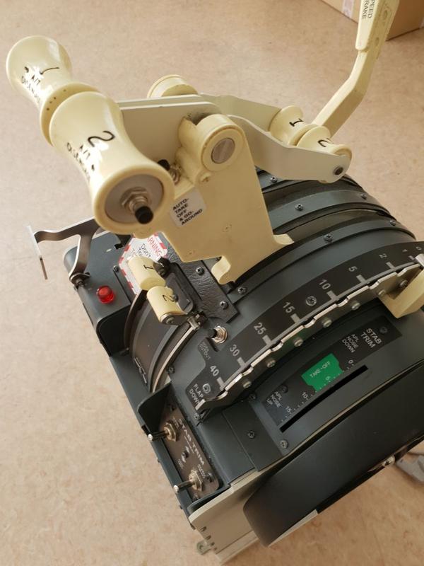 Used B737 motorized throttle FSX