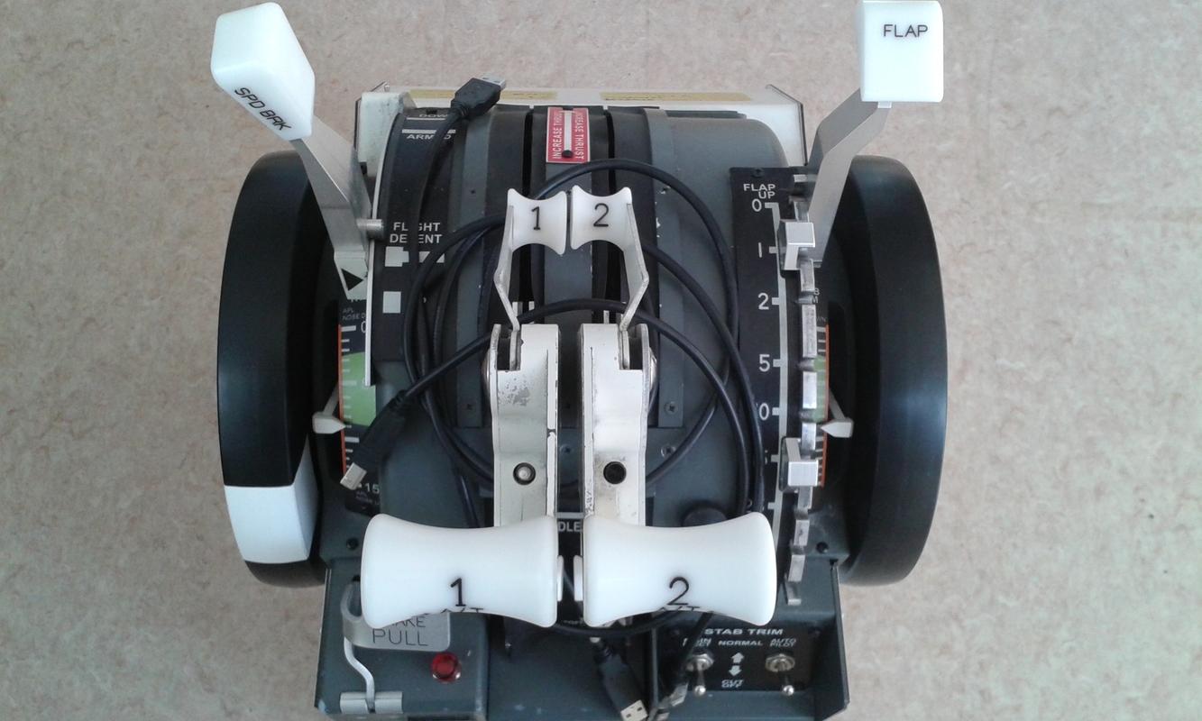 Used B737 Motorized Throttle