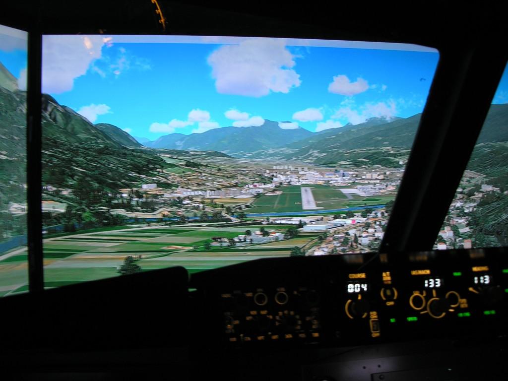 B-737 NG szimulátor Bécsben
