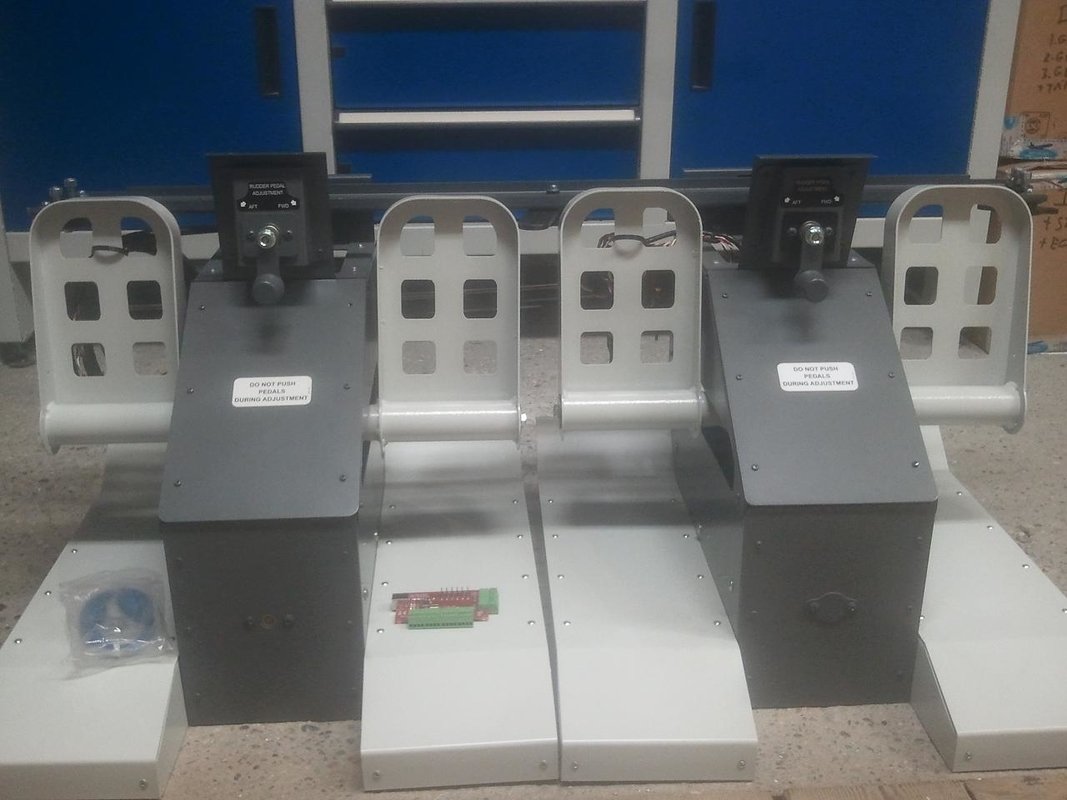 B 737 pedals, UK